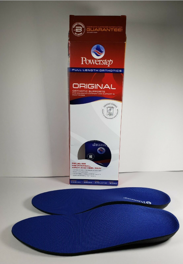 powerstep original shoe insoles orthotic arch supports
