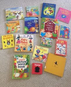 Lots of children's books