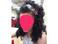 Irish dancing wig