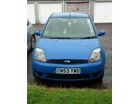 FOR SALE FORD FIESTA 1.2 ZETEC
