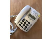 Easy to use telephone with large display