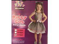 Girls Halloween Costume 3-4 new