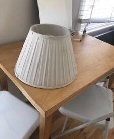 WHITE LAMP SHADE £20 ono