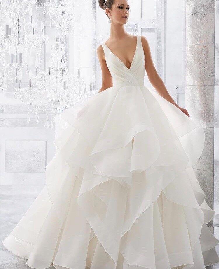 Mori Lee Designer 2017 Wedding Dress Milly Gown Style 5577