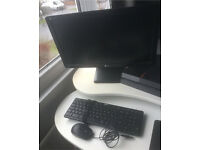 LG chromebase all in one computer, black