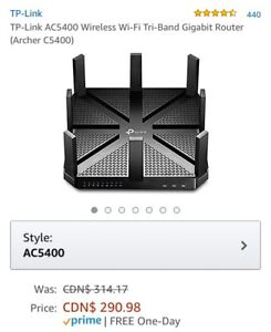 TP-Link AC5400 Wireless Wi-Fi Tri-Band Gigabit Router