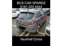 Vauxhall Corsa D. Rear light. Passenger side