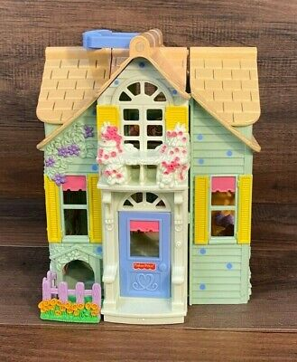 Sweet Street Hideaway Hollow House Mouse Dollhouse Fisher Price
