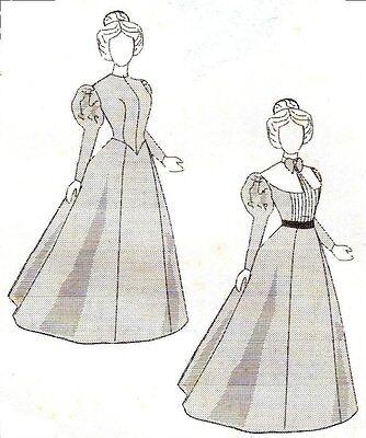 "Alice's Pattern fits 15 1/2 ~ 16"" fashion doll 2 victorian dress"