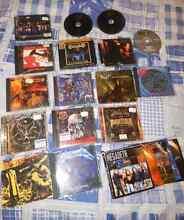 25 METAL THRASH DOOM CDs / DVDs Research Nillumbik Area Preview
