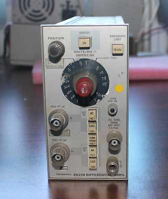 Tektronix 5a21n Differential Amplifier Module
