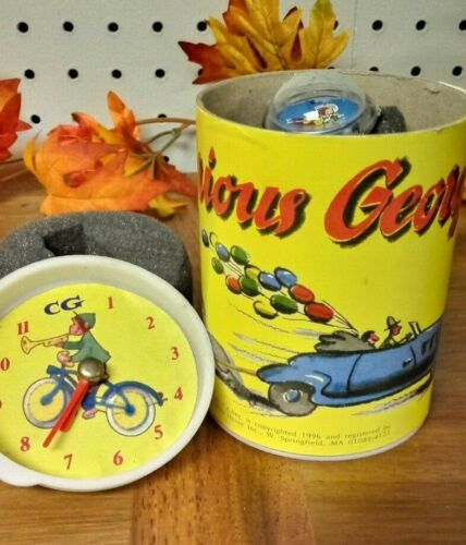 Vintage Curious George Collectible Wrist Watch NEW