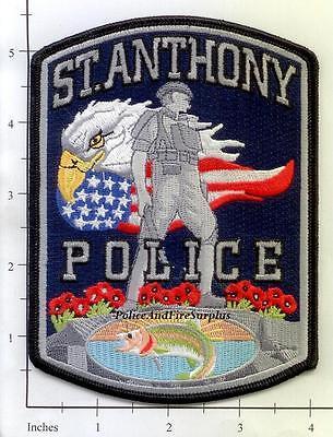 Idaho - St Anthony ID Police Dept Patch