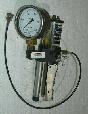 Ametek Portable Hydraulic Pressure Tester 0-3000psi T-618