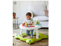 Baby walker and play gym