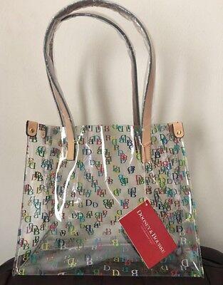 NWT Dooney Bourke Clear IT Medium Shopper Bag Purse Tote~New~