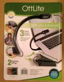 Ottlite LED laptop and book light