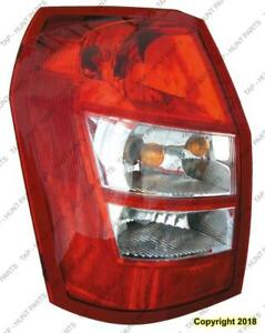 Tail Light Driver Side Dodge Magnum 2005-2008