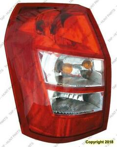 Tail Light Driver Side High Quality Dodge Magnum 2005-2008