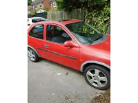 Vauxhall corsa b cheap car