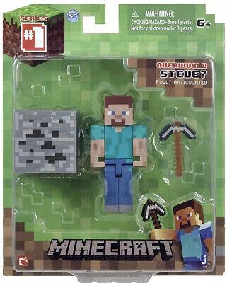 Minecraft Series 1 Overworld Steve Figure Pack