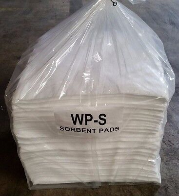 Wpb200s - Oil Only Absorbent Pads - 200 Pads Per Case 15 X 19 White Wp-s