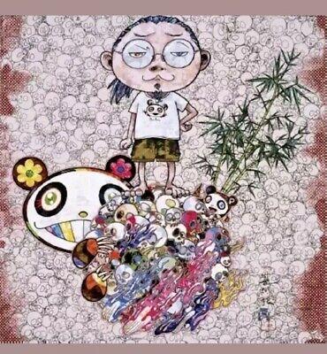 Flowers Jellyfish Chibi Kinoko /& more vtg 2000s Takashi Murakami sticker sheet