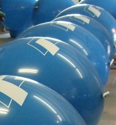 bedruckt mit Ihrem individuellem Aufdruck, ca. 60 - 70 cm Ø (Individuell Bedruckte Ballons)
