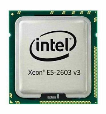 Intel Xeon Six Core E5-2603 v3 1.6GHz 15MB L3 Cache Socket LGA2011-3 Processor