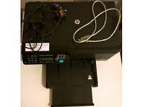 HP Officejet 4500 Desktop Printer Scanner No Cartridge