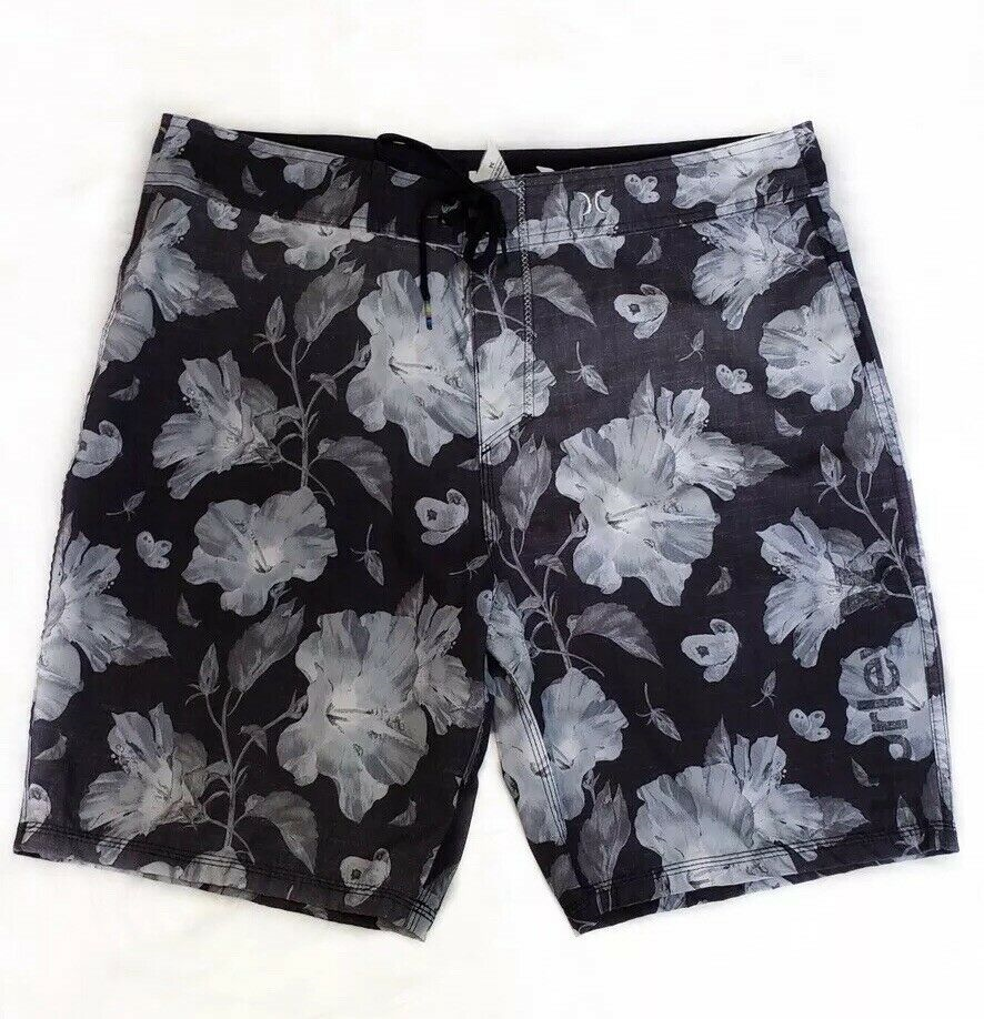 """New HURLEY PHANTOM One & Only 19"""" Floral board shorts swim"""