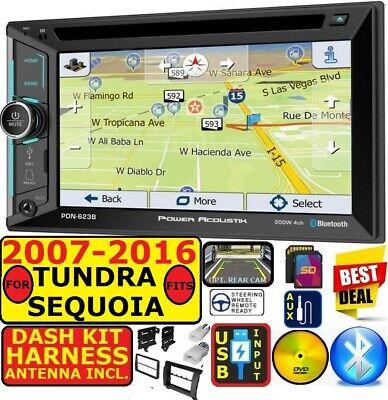 FITS 2007-16 TOYOTA TUNDRA-SEQUOIA NAVIGATION BLUETOOTH CD/DVD USB AUX SD RADIO