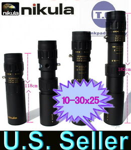 New-Nikula-Mini-10-30x25-High-Power-Zoom-Optical-Monocular-Telescopes-Outdoor