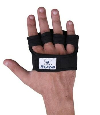 Grip Pad Gym Gel padded Gloves strap wrist Weight Lifting Body Building Workout , used for sale  Shipping to India