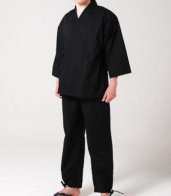 Japanese SAMUE Indigo M Size Traditional Work Wear Cotton 100/% Men/'s