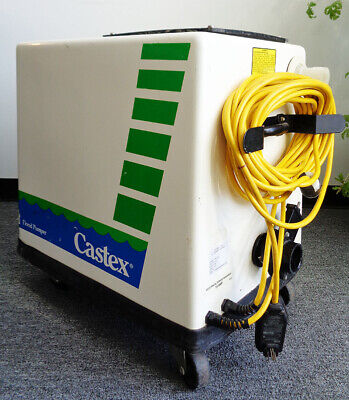 Tennant Castex Flood Pumper Model Mf1001 115v Used Works