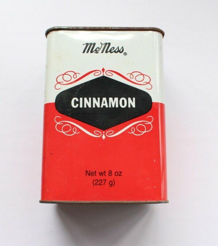 Vintage McNess Cinnamon Tin