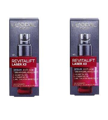 L'Oreal Paris Gesichtspflege Revitalift Laser X3 Anti Aging Serum 2 X