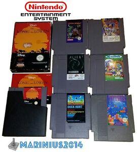 Nintendo-NES-Juego-Juegos-aus-Coleccion-elegir