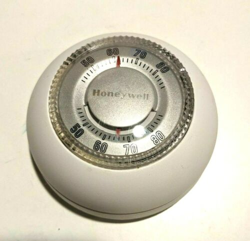 HONEYWELL T87K1007- ROUND, HEAT ONLY, CONVENTIONAL MANUAL THERMOSTAT