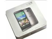HTC One M8 - 32GB - Gunmetal Gray (Unlocked) Smartphone New Seal Pack Box