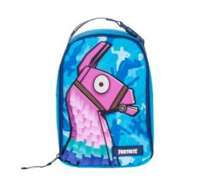 Fortnite Llama Profile Insulated School lunch Bag, Lunch Box, Lunch Sack, NWT