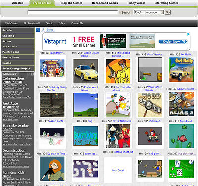 Own A Flash Game Web Site With Google Adsense Generate Money For You