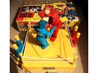 Vintage Mattel - Rock'Em Sock'Em Robots - Classic USA only reissued Game Boxed Assembled like new
