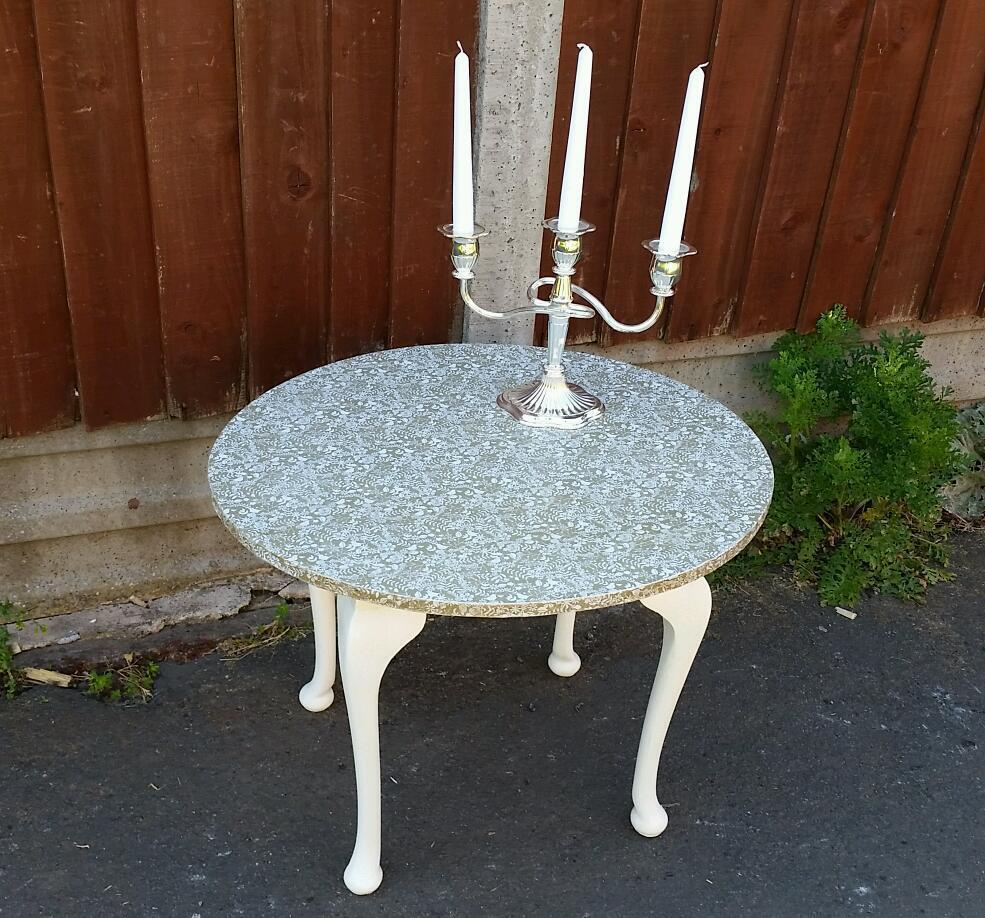 Coffee table shabby chic decoupage Buy sale and trade ads