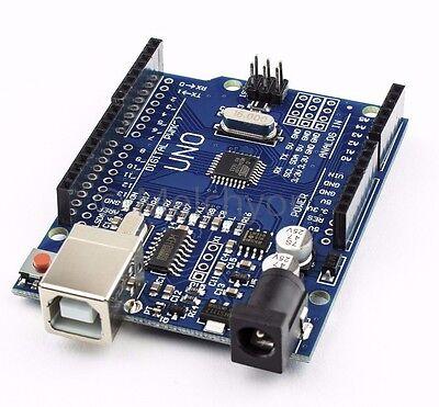 NEW Arduino compatible UNO R3 ATMEGA328P CH340G Board + USB Cable  + wires