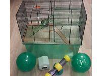 Gerbil or hamster cage gerbilarium