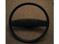 Vw t25 caravelle/campervan steering wheel.hardly worn. In very good condition.