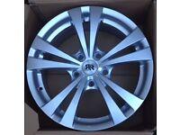Brand New RR Racer Lyra 17 inch 5x120 5 Spoke Alloy Wheel