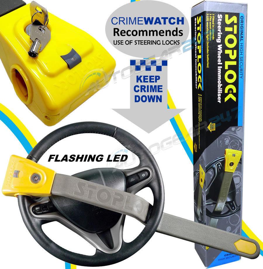 BMW 5 SERIES ALL YEARS Stoplock Original Car Steering Wheel Lock Anti-Theft